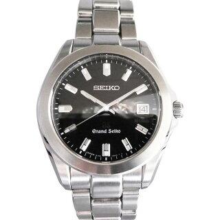 online store 0b7c8 dcc5d セイコー SEIKO その他 グランドセイコー SBGF021 ブラック文字盤 メンズ 腕時計 ...