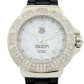 【ポイントバックセール 3%ポイント還元】 タグ・ホイヤー TAG HEUER フォーミュラ1 グラマーダイヤモンド WAC1215.BC0840 ホワイト文字盤 レディース 腕時計 【未使用】