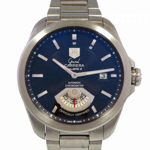 タグ・ホイヤー TAG HEUER グランドカレラ WAV511C ブラック文字盤 メンズ 腕時計 【中古】