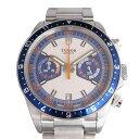 チュードル TUDOR ヘリテージ クロノ 70330B シルバー/ブルー文字盤 メンズ 腕時計 【中古】