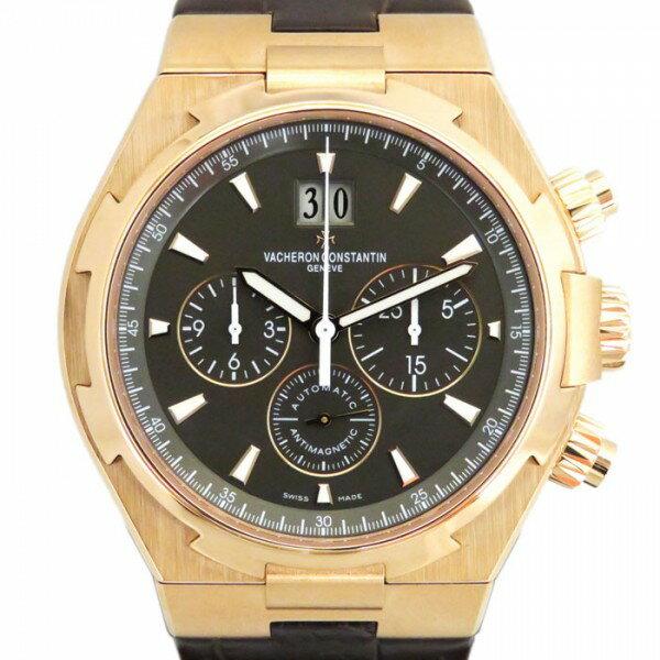 ヴァシュロン・コンスタンタン VACHERON CONSTANTIN オーバーシーズ クロノグラフ 49150/000R-9338 ブラック文字盤 メンズ 腕時計 【新品】