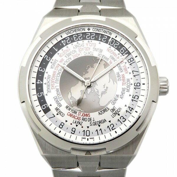 ヴァシュロン・コンスタンタン VACHERON CONSTANTIN オーバーシーズ ワールドタイム 7700V/110A-B129 シルバー文字盤 メンズ 腕時計 【新品】