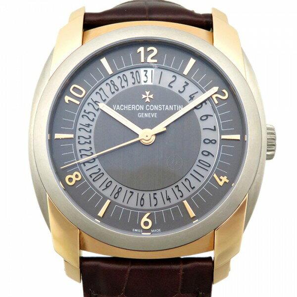 ヴァシュロン・コンスタンタン VACHERON CONSTANTIN ケ・ド・リル・デイト・セルフワインディング 86050/000R-I022I グレー文字盤 メンズ 腕時計 【新品】