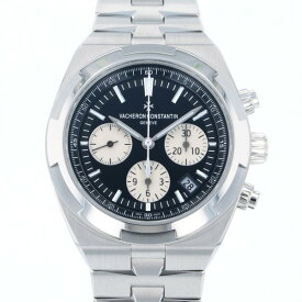 ヴァシュロン・コンスタンタン VACHERON CONSTANTIN オーヴァーシーズ クロノグラフ 5500V/110A-B481 ブラック/シルバー文字盤 新品 腕時計 メンズ