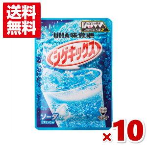 (メール便全国送料無料) 味覚糖 シゲキックス ソーダ 10入 (ポイント消化)