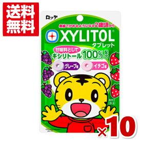 (メール便全国送料無料)ロッテ キシリトールタブレット 10入 (ポイント消化) (np)