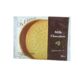 (本州送料無料) 前田製菓 チョコレートサンドビスケットリサーチ (10×4)40入