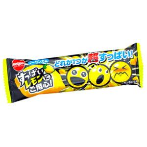 (本州送料無料) 明治チューインガム すっぱいレモンにご用心 (20×4)80入