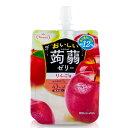 たらみ おいしい蒟蒻ゼリー りんご味 (6×5)30入.