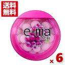 (メール便全国送料無料)味覚糖 e−maのど飴容器グレープ 6入 (ポイント消化)