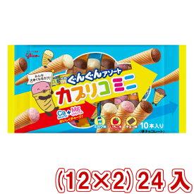 (本州送料無料) 江崎グリコ カプリコミニ大袋 (12×2)24入 (Y12)(ケース販売) #