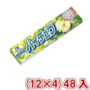 (本州送料無料) 森永 ハイチュウ グリーンアップル (12×4)48入