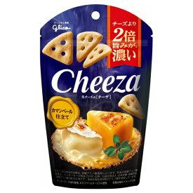 (本州送料無料) 江崎グリコ チーズより2倍旨みが濃い 生チーズのチーザ カマンベール仕立て (10×2)20入(Y80)