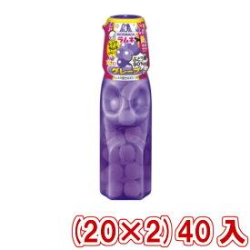(本州一部送料無料)  森永 ラムネ グレープ&シュワラムネ (20×2) 40入 (Y80)