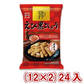 (本州送料無料) 岩塚製菓 90g 大人のおつまみ えび黒こしょう (12×2)24入 (Y12)