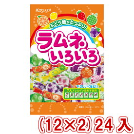 (本州送料無料) 春日井 ラムネいろいろ (12×2)24入 (Y10)