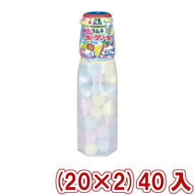 (本州一部送料無料)  森永 ラムネ ミックスフルーツソーダ (20×2) 40入 (Y80)