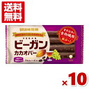 (メール便全国送料無料) 味覚糖 ビーガンカカオバー ラムレーズン 10入 (ポイント消化)