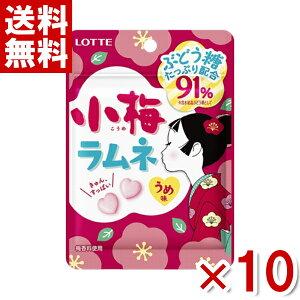 (メール便全国送料無料) ロッテ 40g 小梅ラムネ 10入 (ポイント消化) (np)