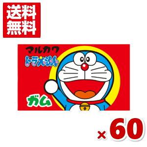 (メール便全国送料無料) マルカワ ドラえもんガム ソーダ味 (55+5)60入 (ポイント消化) (CP)