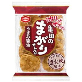 (本州一部送料無料) 亀田製菓 まがりせんべい 12入 (Y12)。
