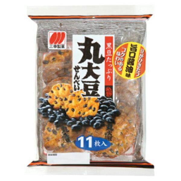 (本州送料無料) 三幸製菓 丸大豆せんべい12入