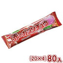 (本州一部送料無料) 明治チューインガム 赤のガブリチュウ ふじりんご味 (20×4)80入 。