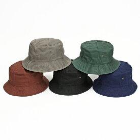 帽子 アメリカブランド newhattan ニューハッタン バケットハット ファッションバケット コットン100% ウォッシュ加工 男女兼用 全10色 USA 直輸入モデル 送料無料 1500