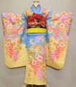 【中古】七五三 7歳祝着帯付きフルセット