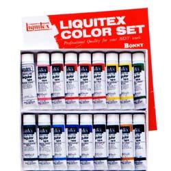 Liquitex リキテックス レギュラー#6 伝統色 18色セット