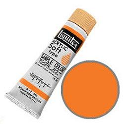 Liquitex リキテックス ソフト#6 (20ml) ブリリアントオレンジ