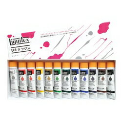 Liquitex リキテックス ソフト#6 伝統色12色セット