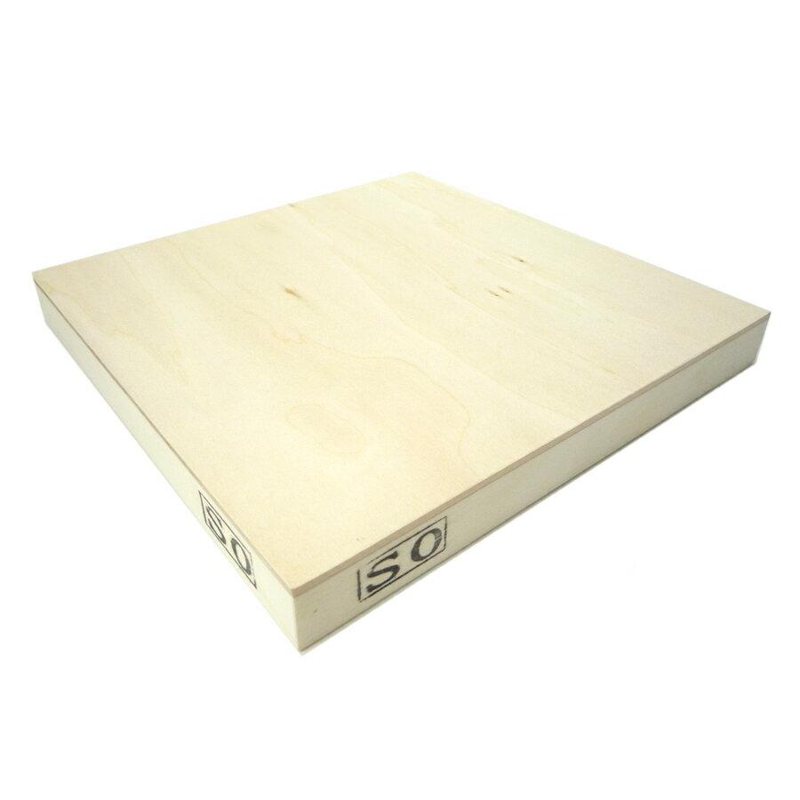 木製パネル シナベニヤパネル S0 (180×180mm) 厚み19.5mm