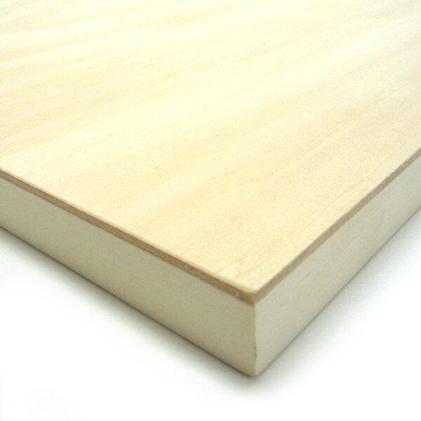 木製パネル シナベニヤパネル S-SM (227×227mm) 厚み19.5mm