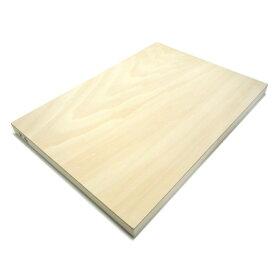 木製パネル シナベニヤパネル F4 (333×242mm) 厚み19.5mm