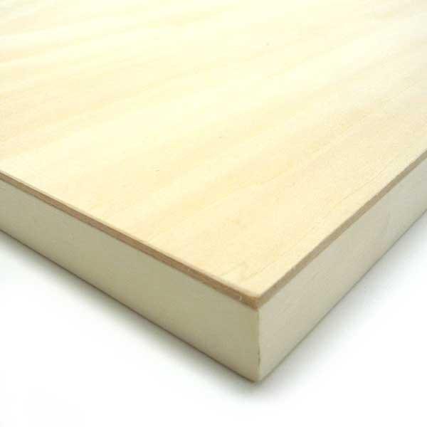 木製パネル シナベニヤパネル S10 (530×530mm) 厚み19.5mm