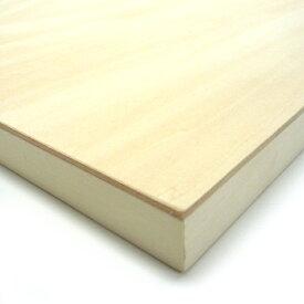 木製パネル シナベニヤパネル B4 (364×257mm) 厚み19.5mm