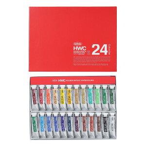 ホルベイン 透明水彩絵具 24色セット 15ml 5号チューブ W444
