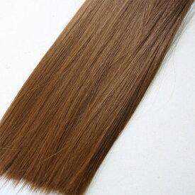 ウィッグヘアー (毛束) 100g キャラメルブラウン
