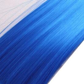 ウィッグヘアー (毛束) 100g ブルー