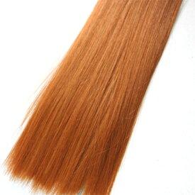 ウィッグヘアー (毛束) 100g オレンジゴールド