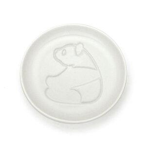 パンダ 醤油皿 みあげる