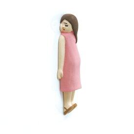 壁ごこち 女の子 壁を愛してやまないマグネット