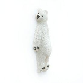 壁ごこち 白熊 壁を愛してやまないマグネット