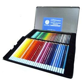 ヴァンゴッホ 水彩色鉛筆 60色セット (メタルケース入り)
