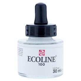 カラーインク エコライン30ml ボトル ホワイト T1125-1001 キャッシュレス 5%還元対象