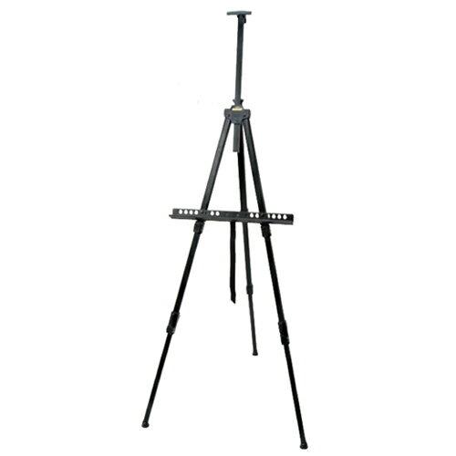 ターレンス 野外用メタルイーゼル 3段式 ブラック TME-3BN