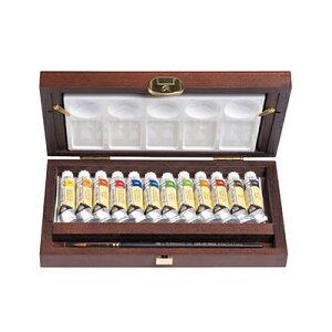 レンブラント 水彩絵具 10ml (チューブ) トラディショナルBOX 12色セット T0584-0015