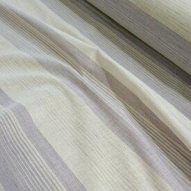 近江の麻 生地カット売り ボーダー柄 巾110センチ×50センチ 日本製 地域ブランド 麻 リネン