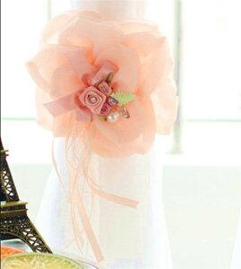 カーテンタッセル クリップ 北欧 おしゃれ ピンク かわいい 薔薇雑貨母の日ギフト